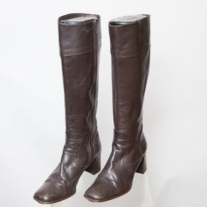Coach Vintage Heeled Boot Size 8.5